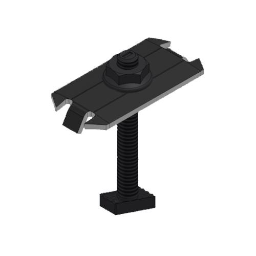 UniRac SolarMount 302028D Dark Mid-Clamp