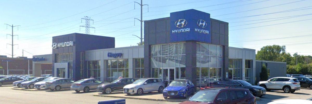 Gregory Hyundai Location