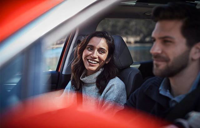 Man and Woman in Car
