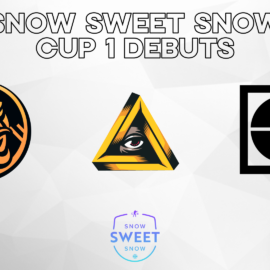 #SnowSweetSnow Cup 1 Debuts announcement