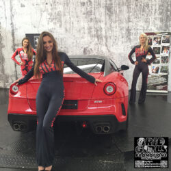 Grid Girls Promotions At Supercar Rooms Shoot 01