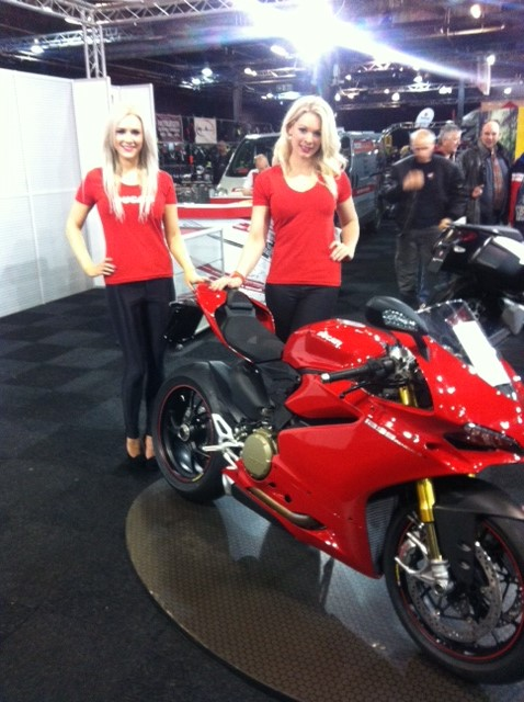 Ducati Manchester at the Manchester Motorcycle Show 2015