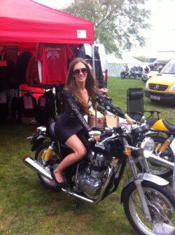 Principal Insurance Girls At The Mcn Festival Of Motorcycling
