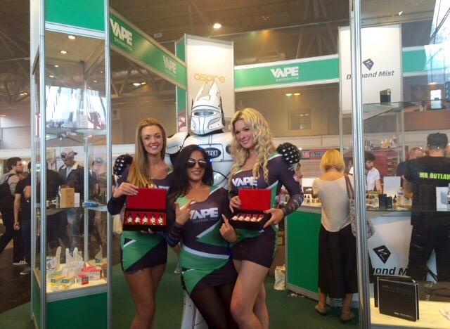 Vape Distribution – Vaper Expo – Birmingham Nec – 11/12th July
