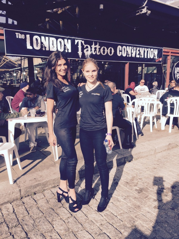 Unigloves Promotion at London Tattoo Convention