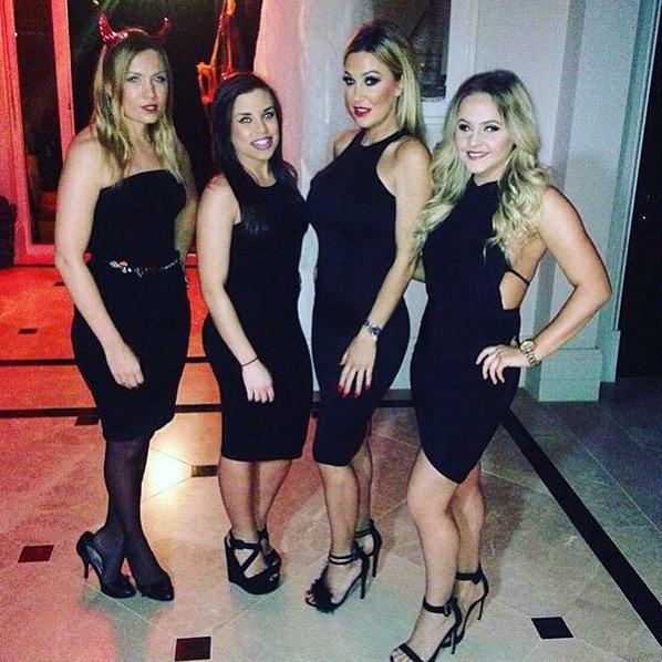Hostesses Halloween Private Party Oxshott 01