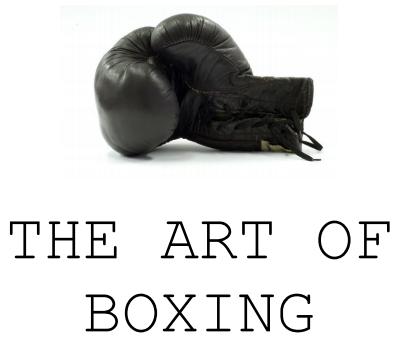 White Collar Boxing – London's Burning – 6th November 2015