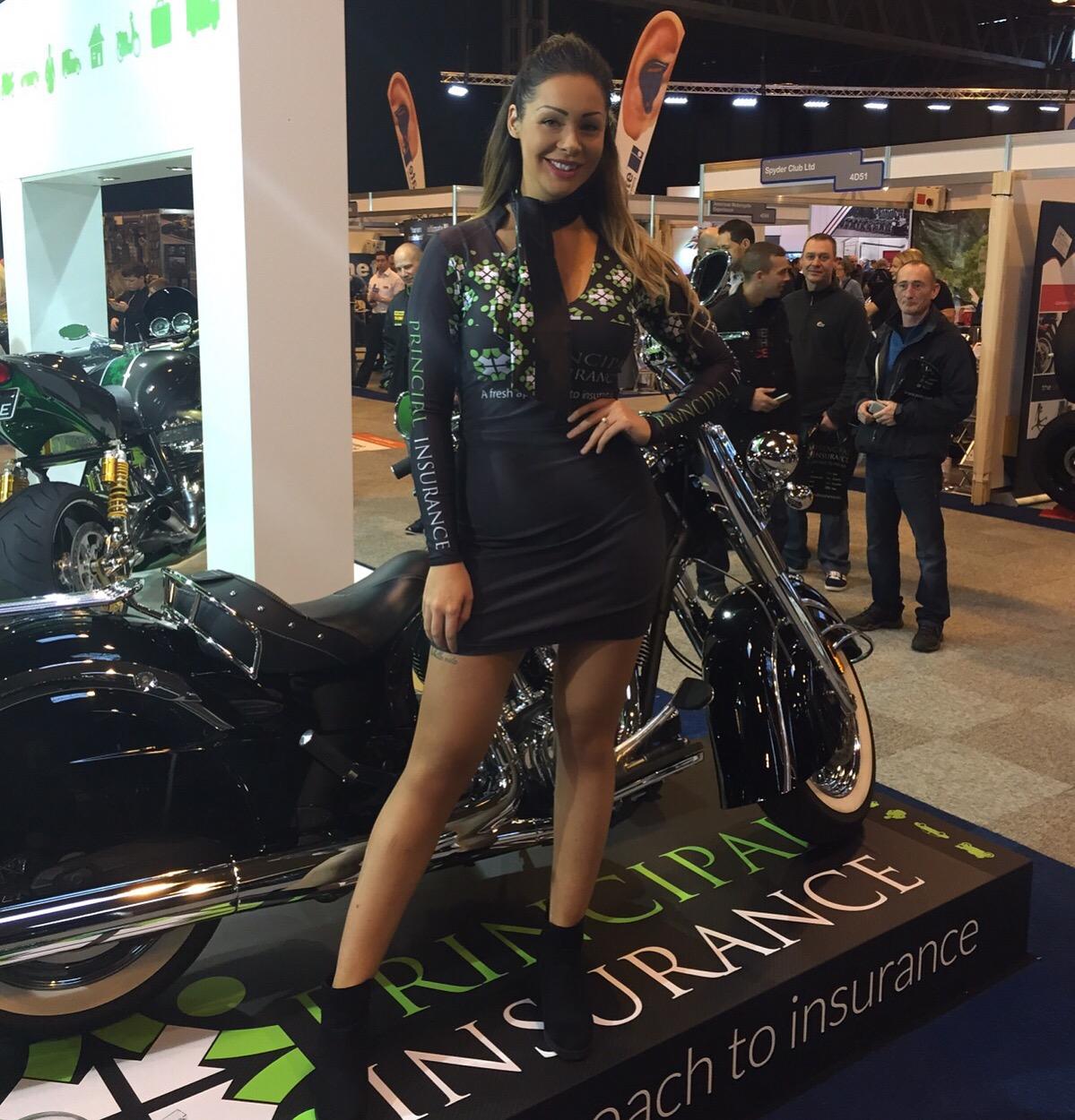 Principal Insurance Girls at Motorcycle Live