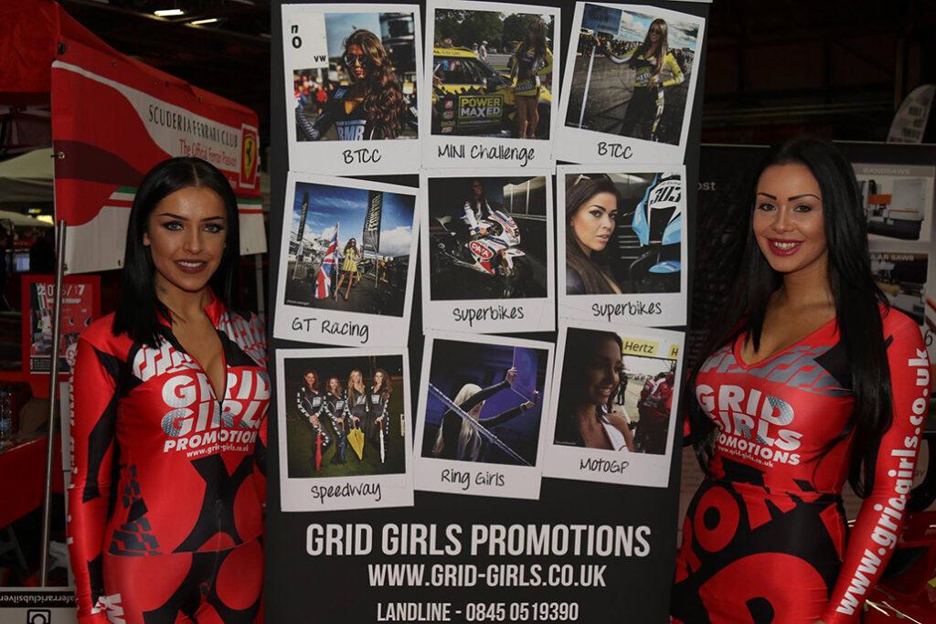 Grid Girls Promotions – Autosport 2016 – Birmingham Nec