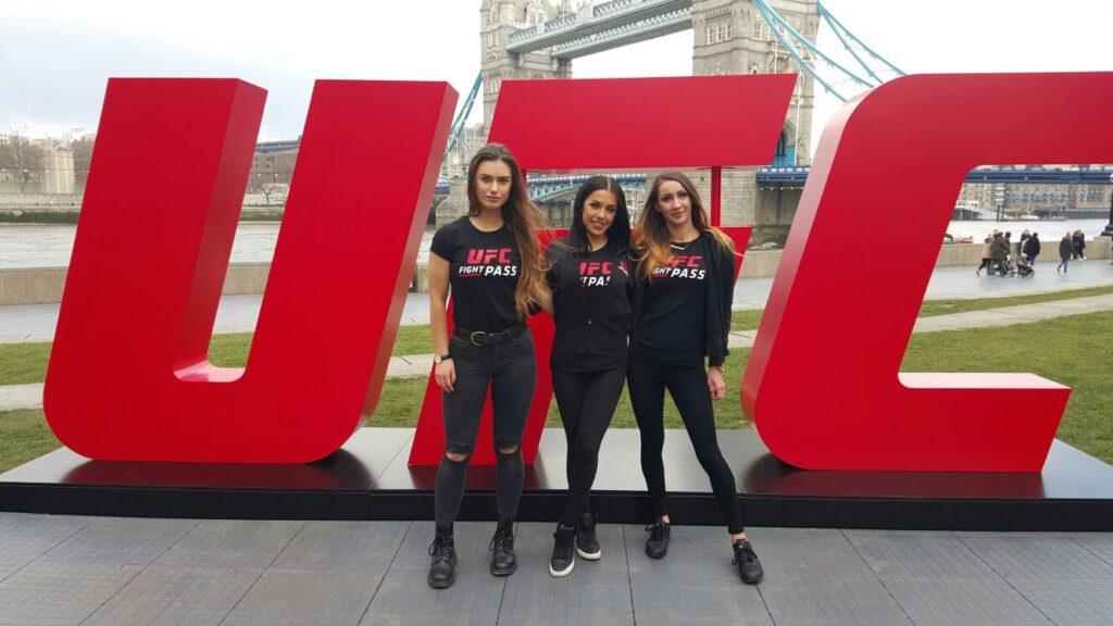 Promo Models – Tower Bridge – Ufc London – 25th Feb 2016
