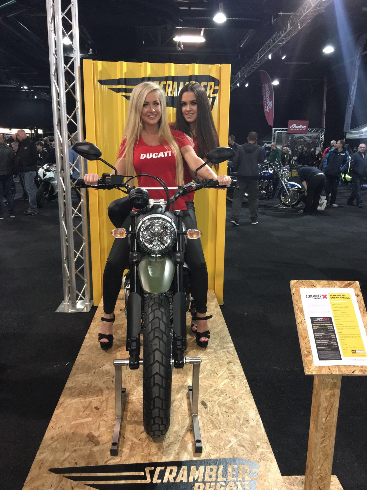Ducati Manchester at the Manchester Motorcycle Show 2016