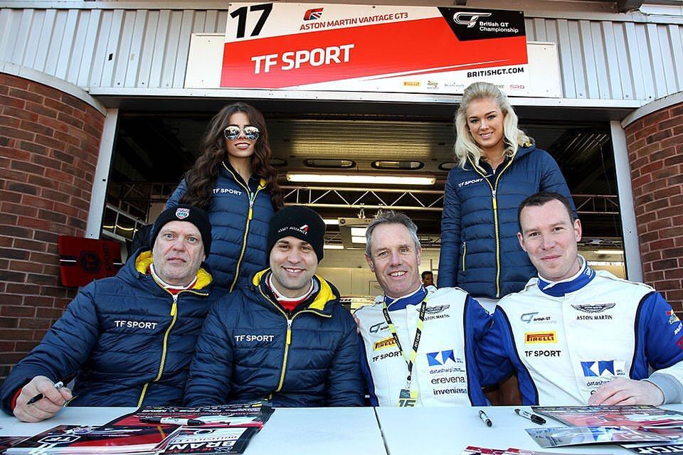 TF Sport at Brands Hatch for British GT – 17th April