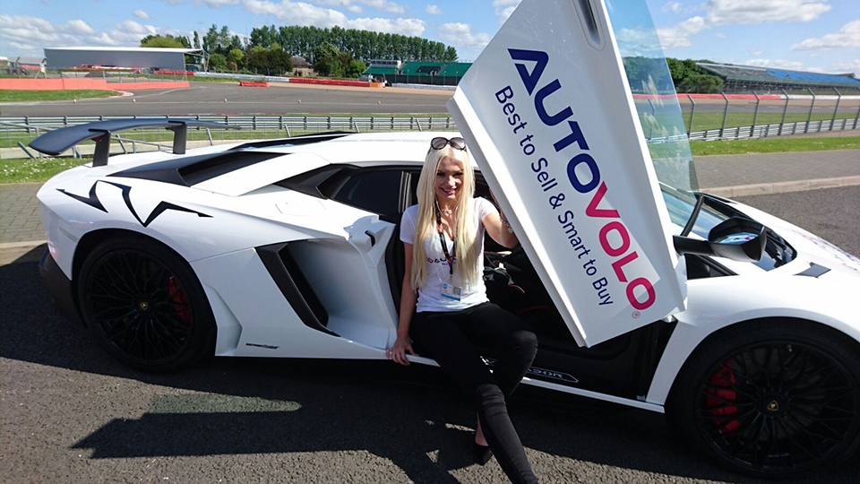 Promo Model – AutoVolo – CDX16 (Car Dealer Expo) at Silverstone Wing