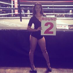 Ring Girl Dove Promotions He Who Dares 30th April 2016 01