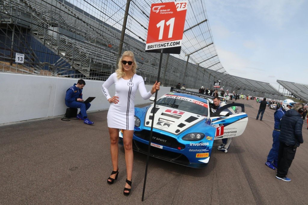 Tf Sport At Rockingham For British Gt – 1st May