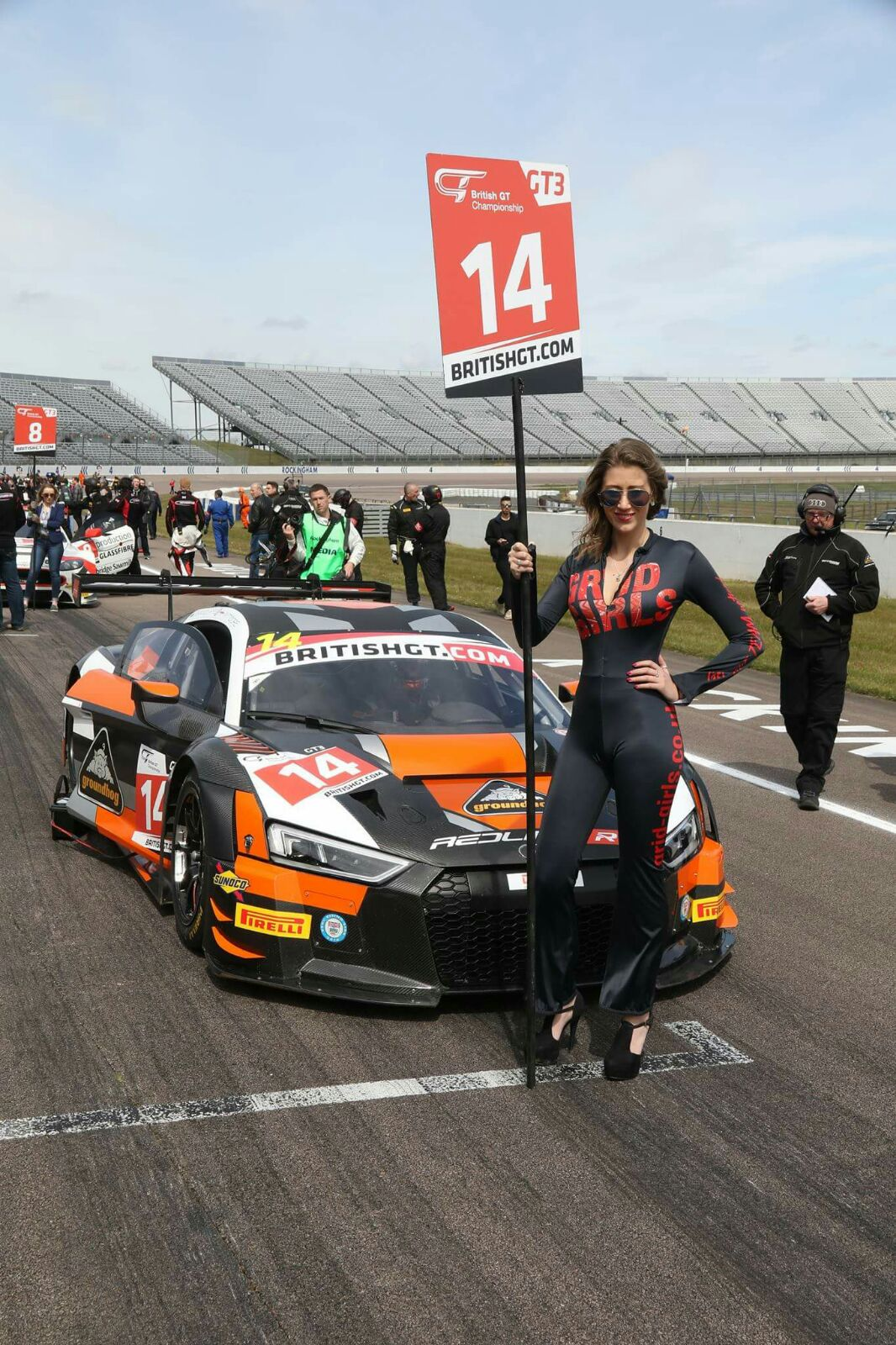 Will Moore Racing at Rockingham for British GT – 1st May