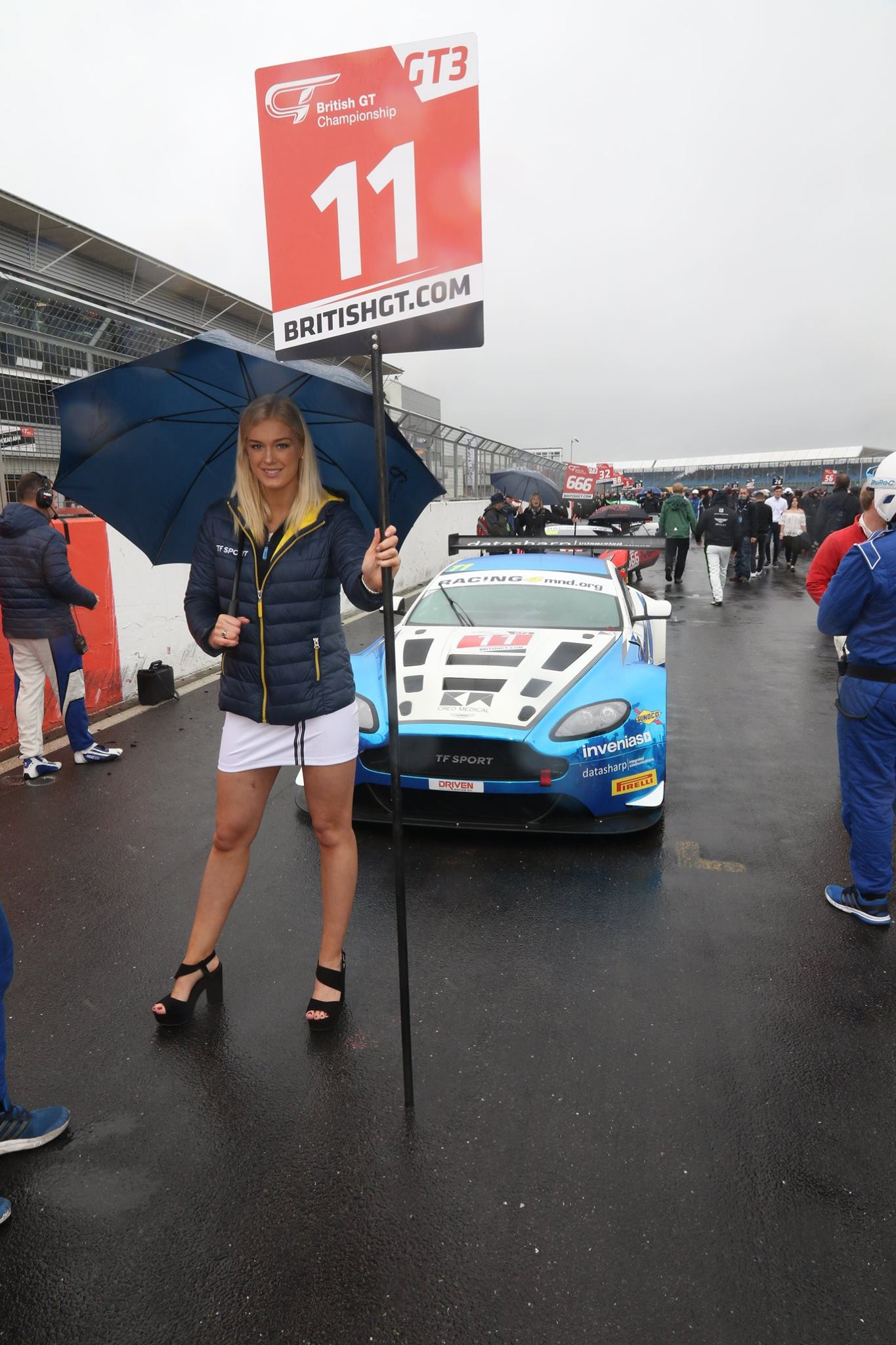 TF Sport at Silverstone for British GT – 12th June