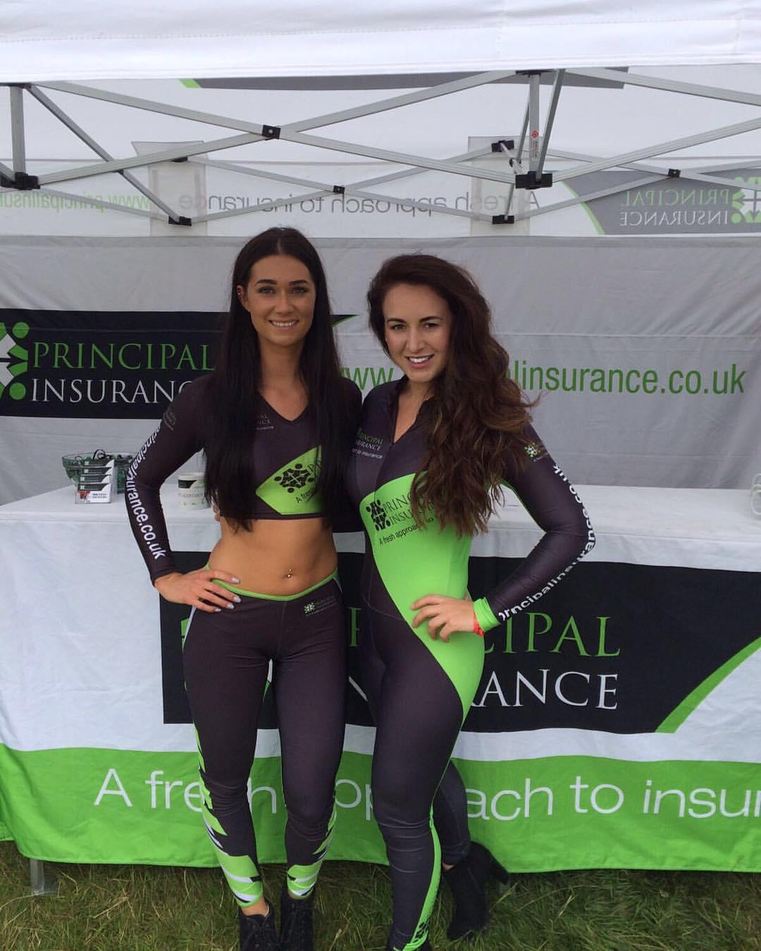 Principal Insurance Girls at the Rock and Bike Festival