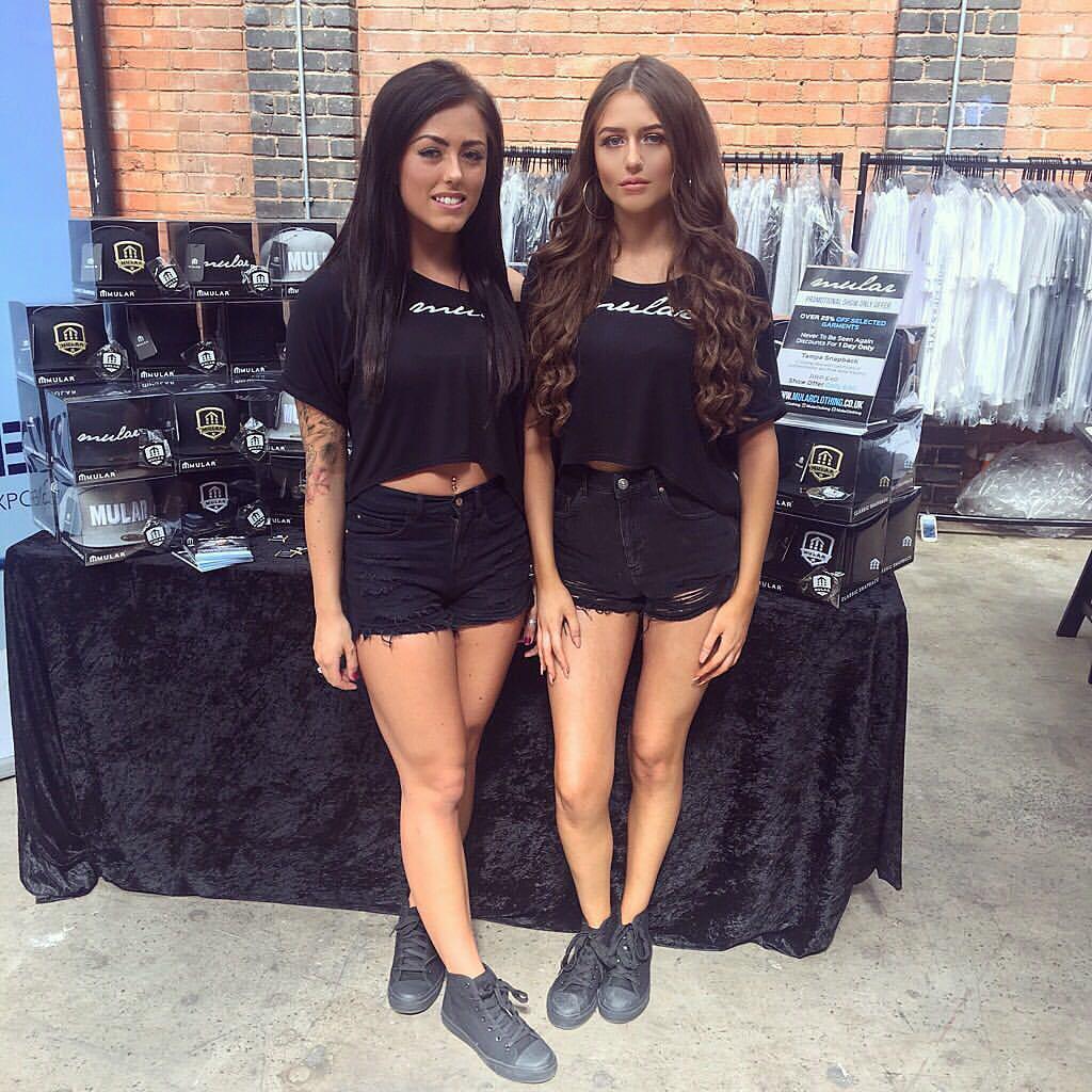 Promo Models with Mular Clothing at the UK Designer Expo – Birmingham