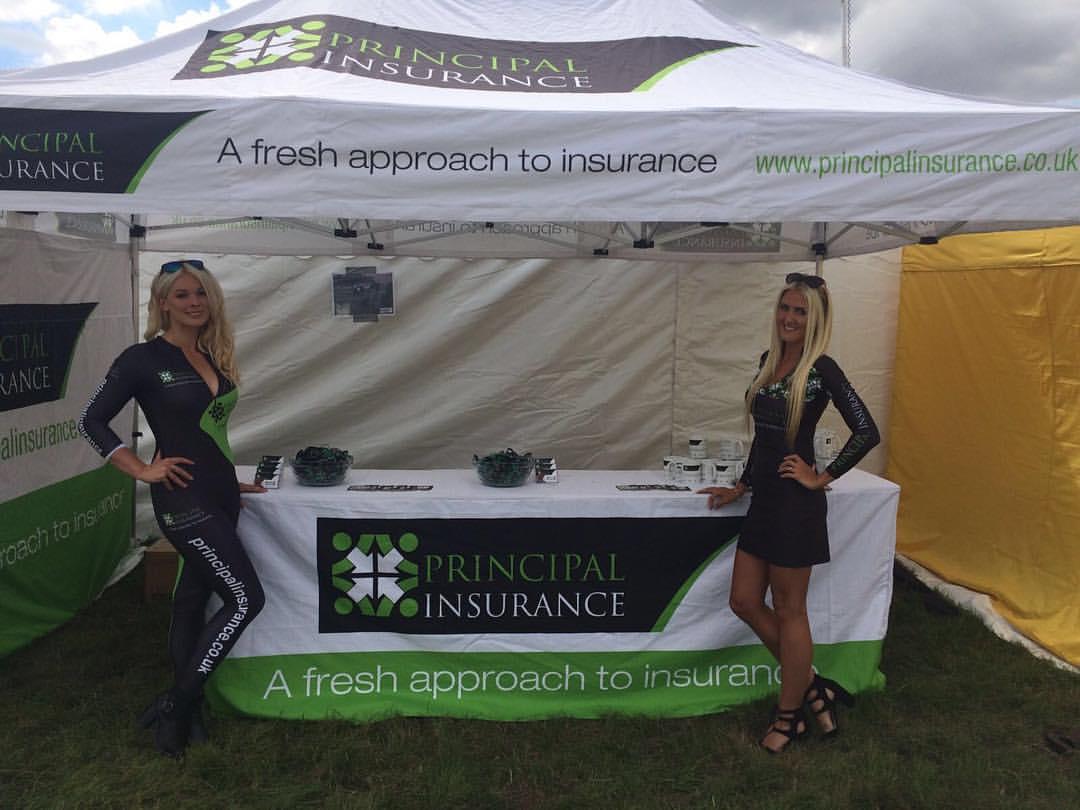 Principal Insurance Girls at the Yorkshire Pudding Show