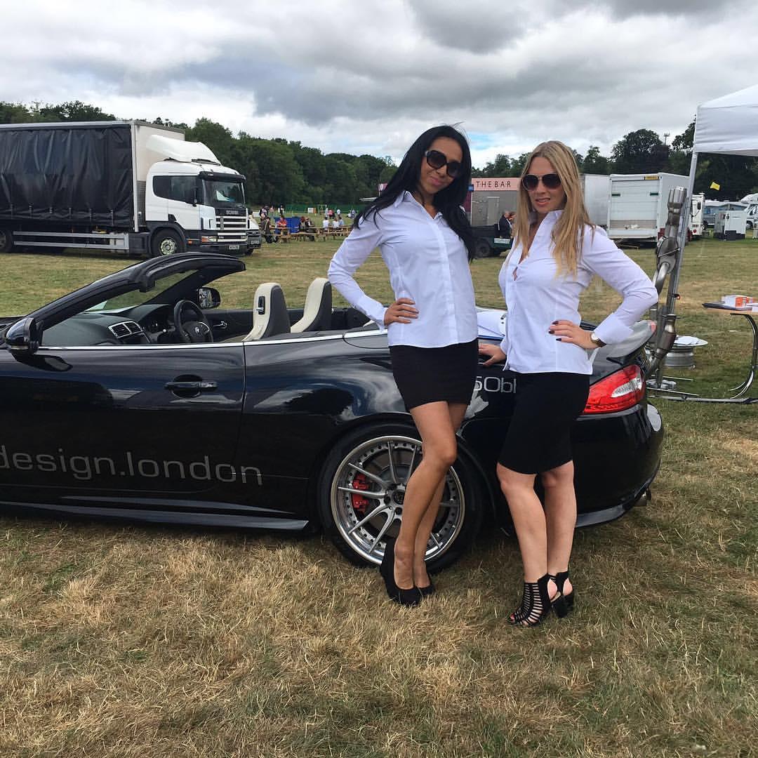 Promo Models – VIP Design London – Ragley Hall – Game Fair