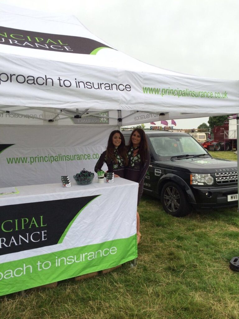 Principal Insurance Girls At The Stormin The Castle 01