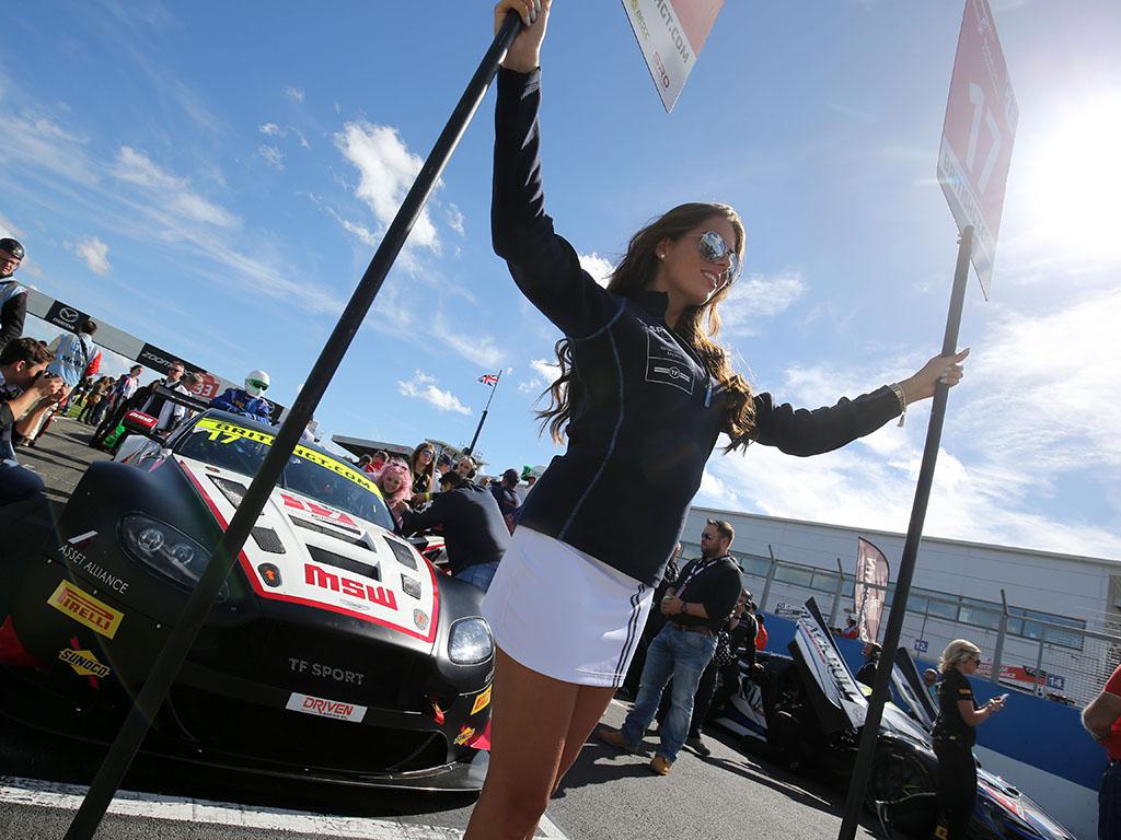 TF Sport at Donington for British GT – 11th September