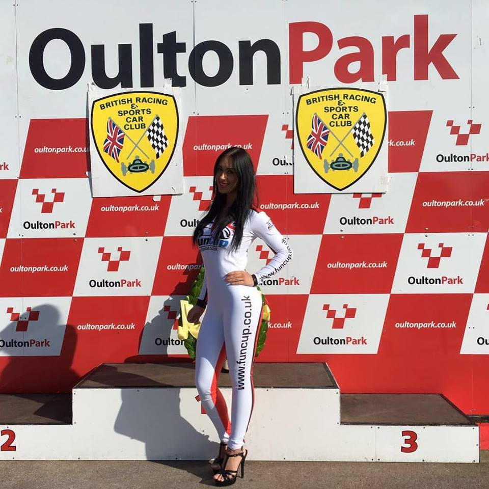 Grid Girl – Fun Cup UK 2016 – Oulton Park – 8th October
