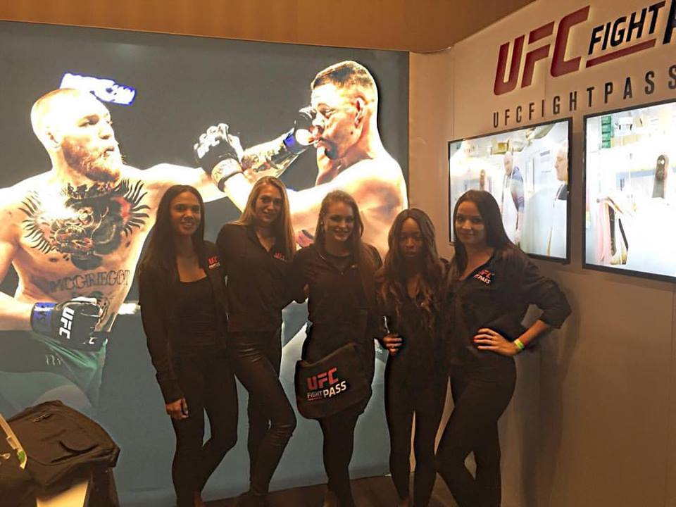 Promo Models – UFC 204 – Manchester Central – 7th October 2016