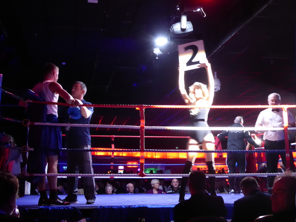 Ring Girl – Private Event – Butlins – 24th November 2016