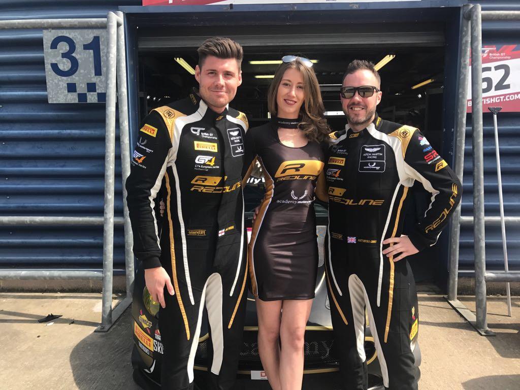 Academy Motorsport at Rockingham for British GT – 30th April 2017