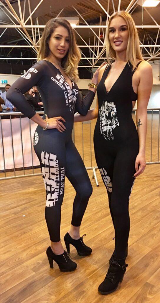 Ring Girls At Roar Combat League Road 2 Roar Show 29th April 2017 01 1