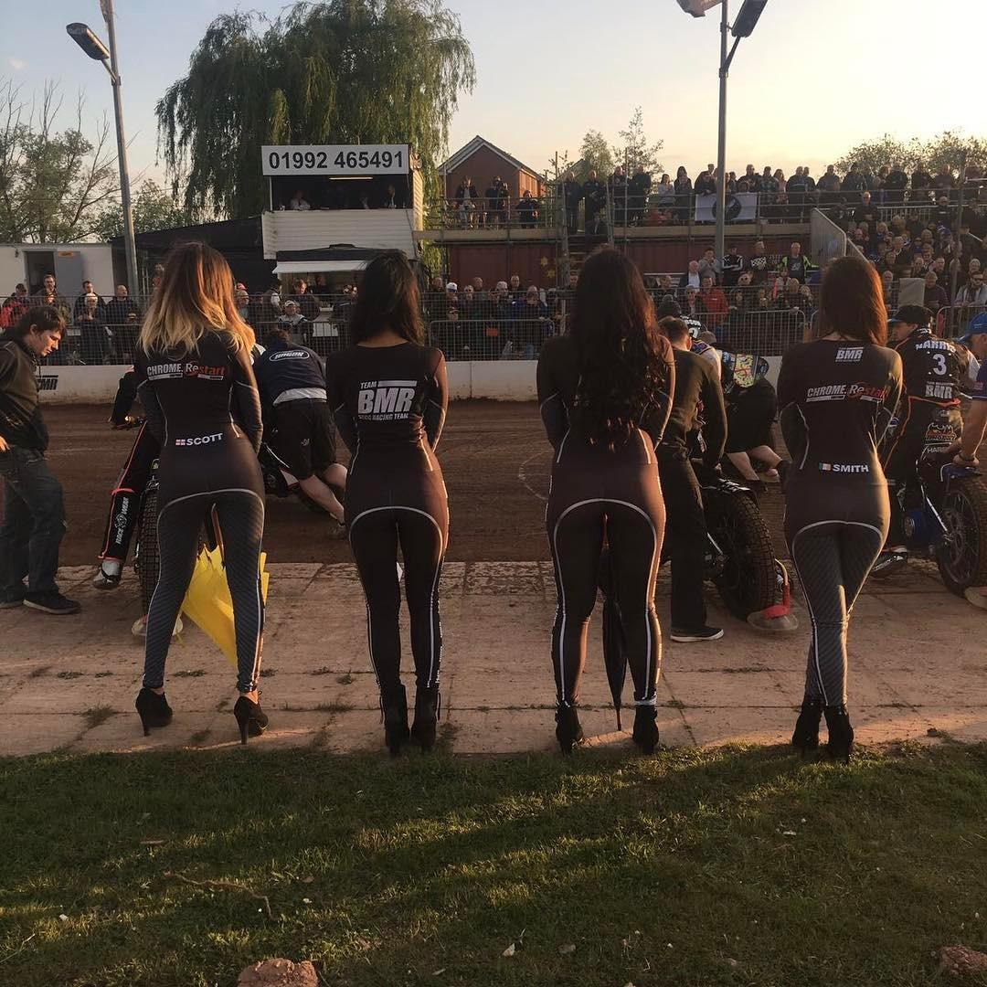 Rye House Rockets Startline Girls – Rye House Speedway – 15th April 2017