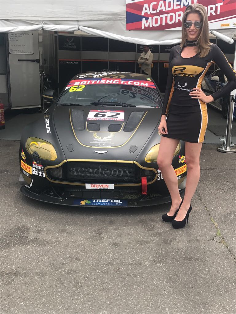 Academy Motorsport At Snetterton For British Gt 28th May 2017 01