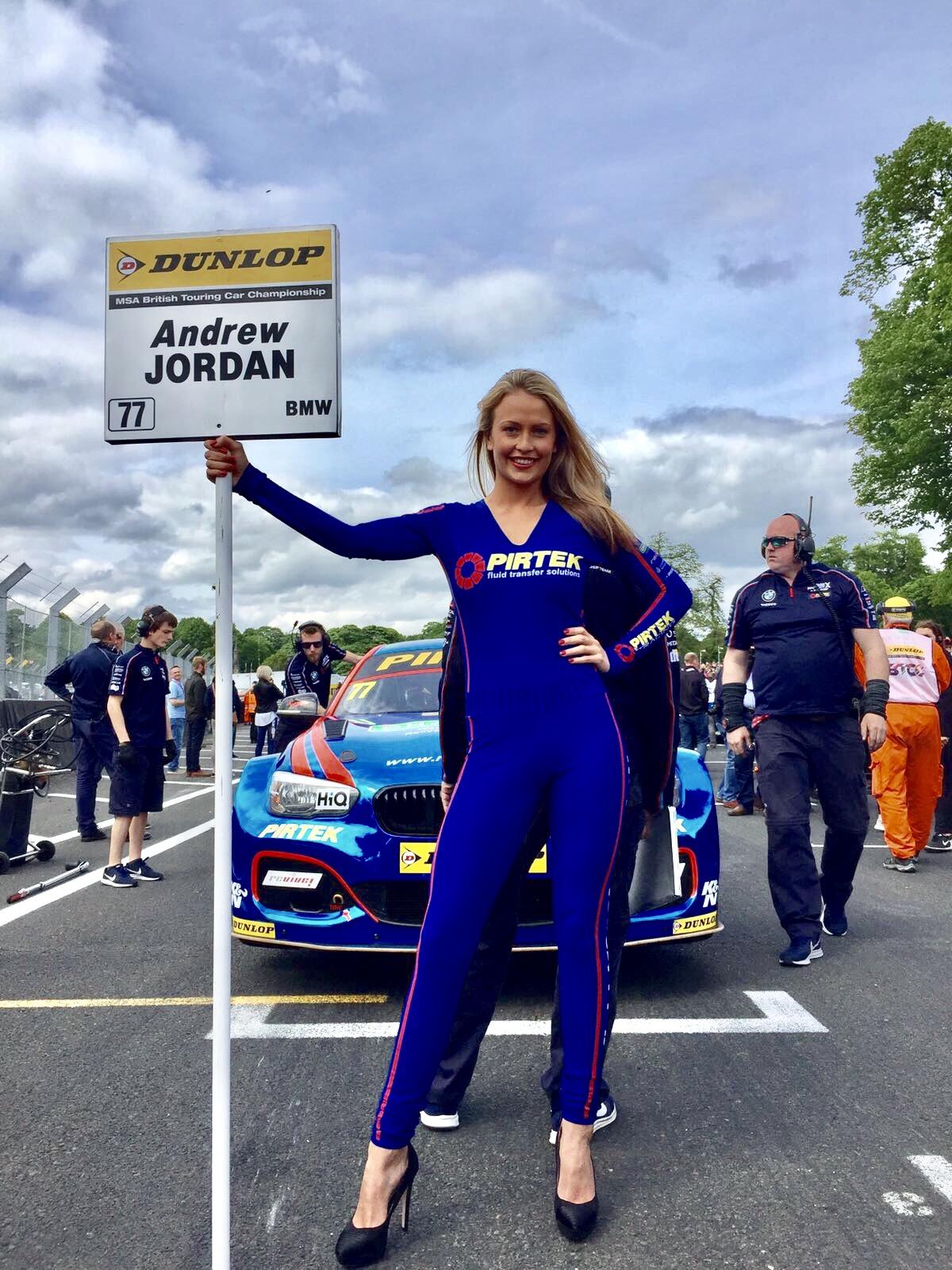 BMW Pirtek Racing BTCC at Oulton Park – 21st May 2017