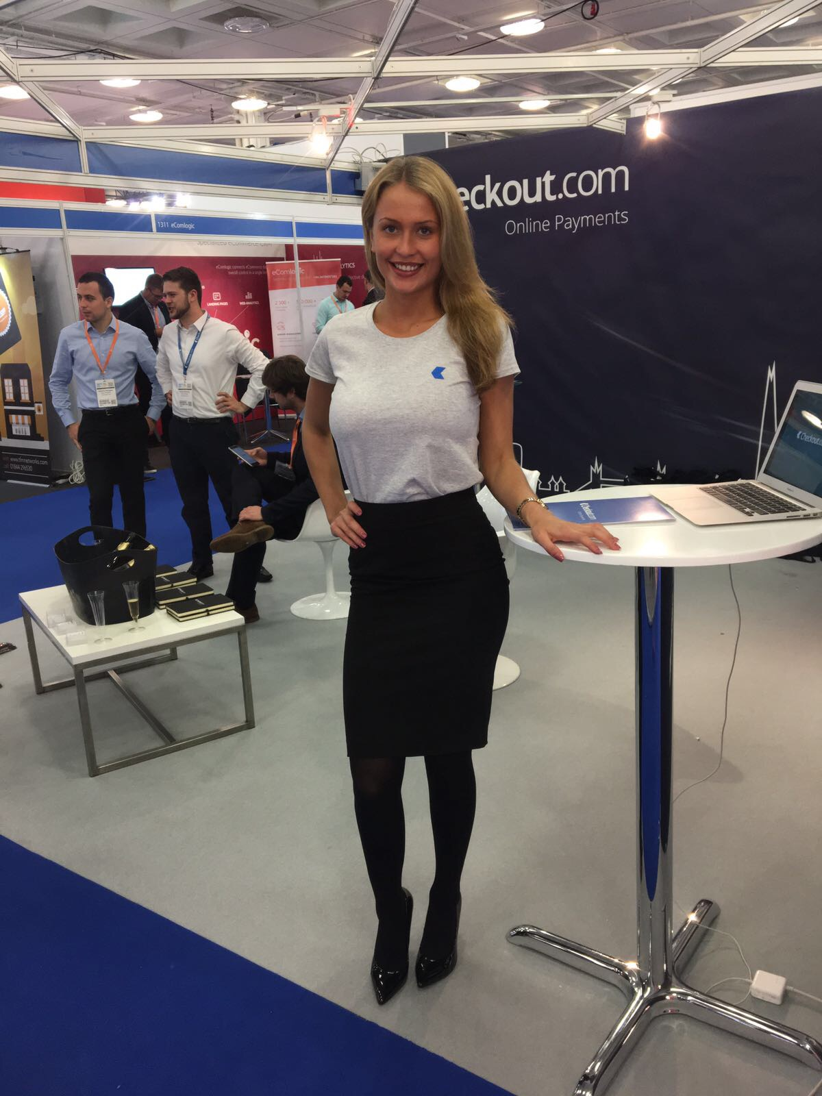Promo Model – Checkout.com – RBTE – Olympia London – 8/9th May 2017
