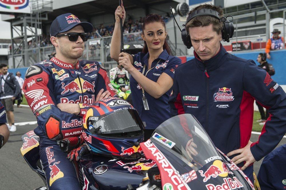 Red Bull Honda At Donington Park World Superbikes 01