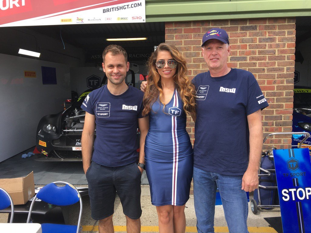 TF Sport at Snetterton for British GT – 28th May 2017
