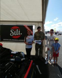 Promo Model Reece Barr Silverstone 11th June 2017 01