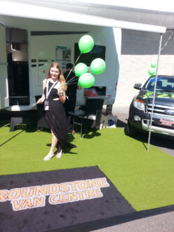Promo Model Roundstone Vans Bh Motor Show 1011th June 2017 01