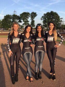 Rye House Rockets Startline Girls Rye House Speedway 14th June 2017 01
