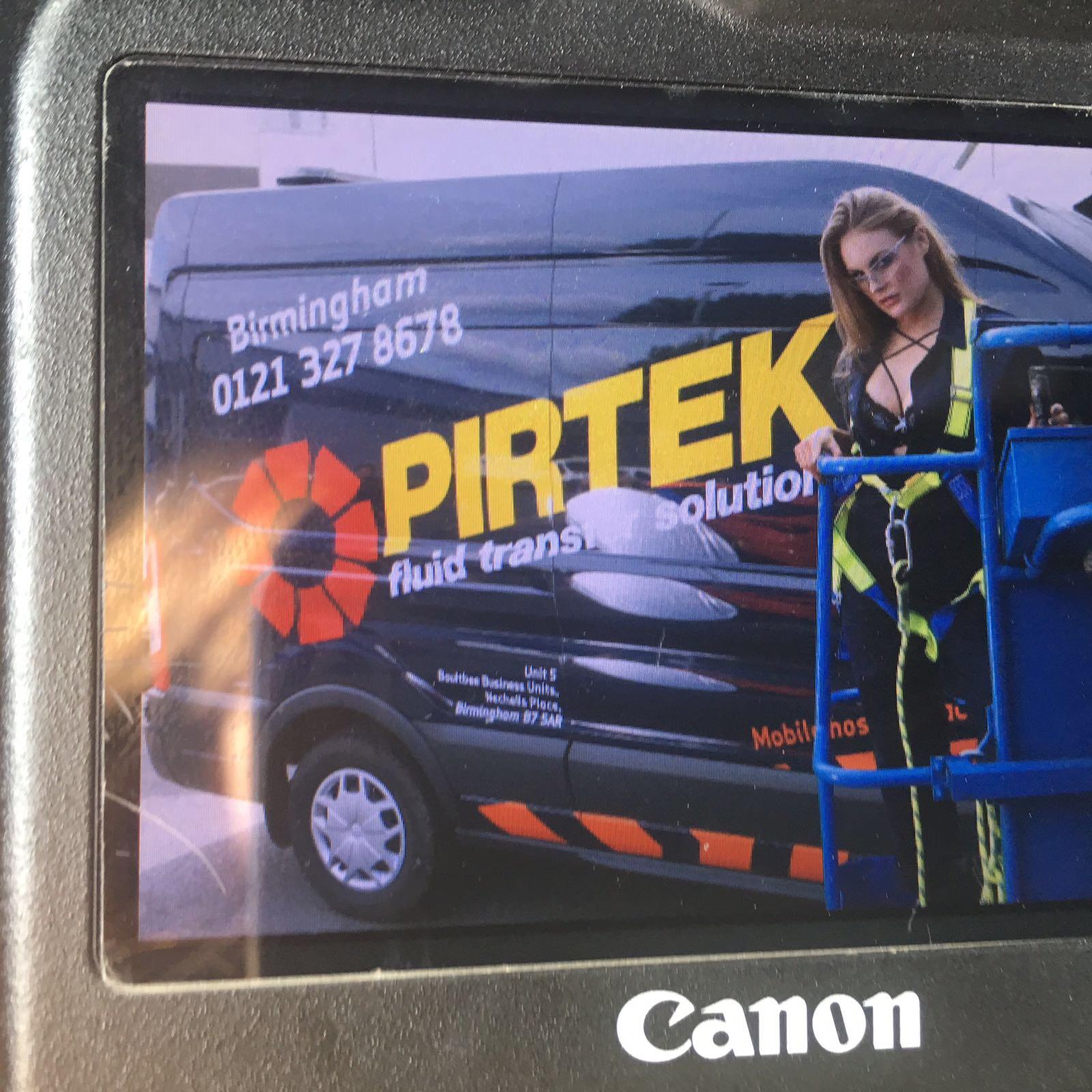 Photo Shoot with Pirtek UK in Birmingham on 20th September 2017