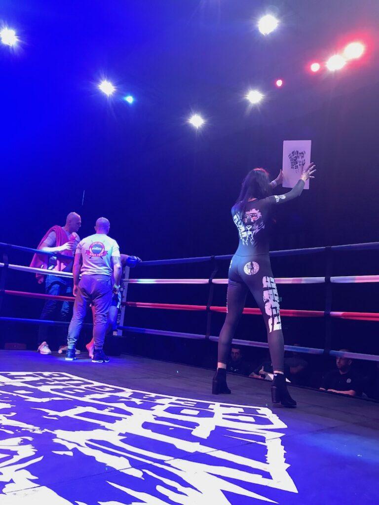 Ring Girls At Roar Combat League Muay Thai Show 14th October 2017 01