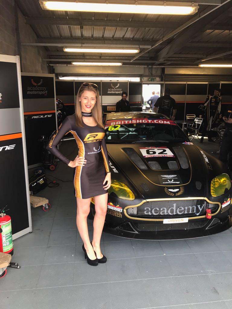 Academy Motorsport at Donington Park for British GT – 24th September 2017