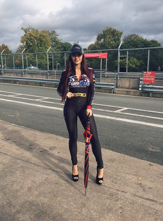 Grid Girl – Fun Cup UK 2017 – Oulton Park – 14th October
