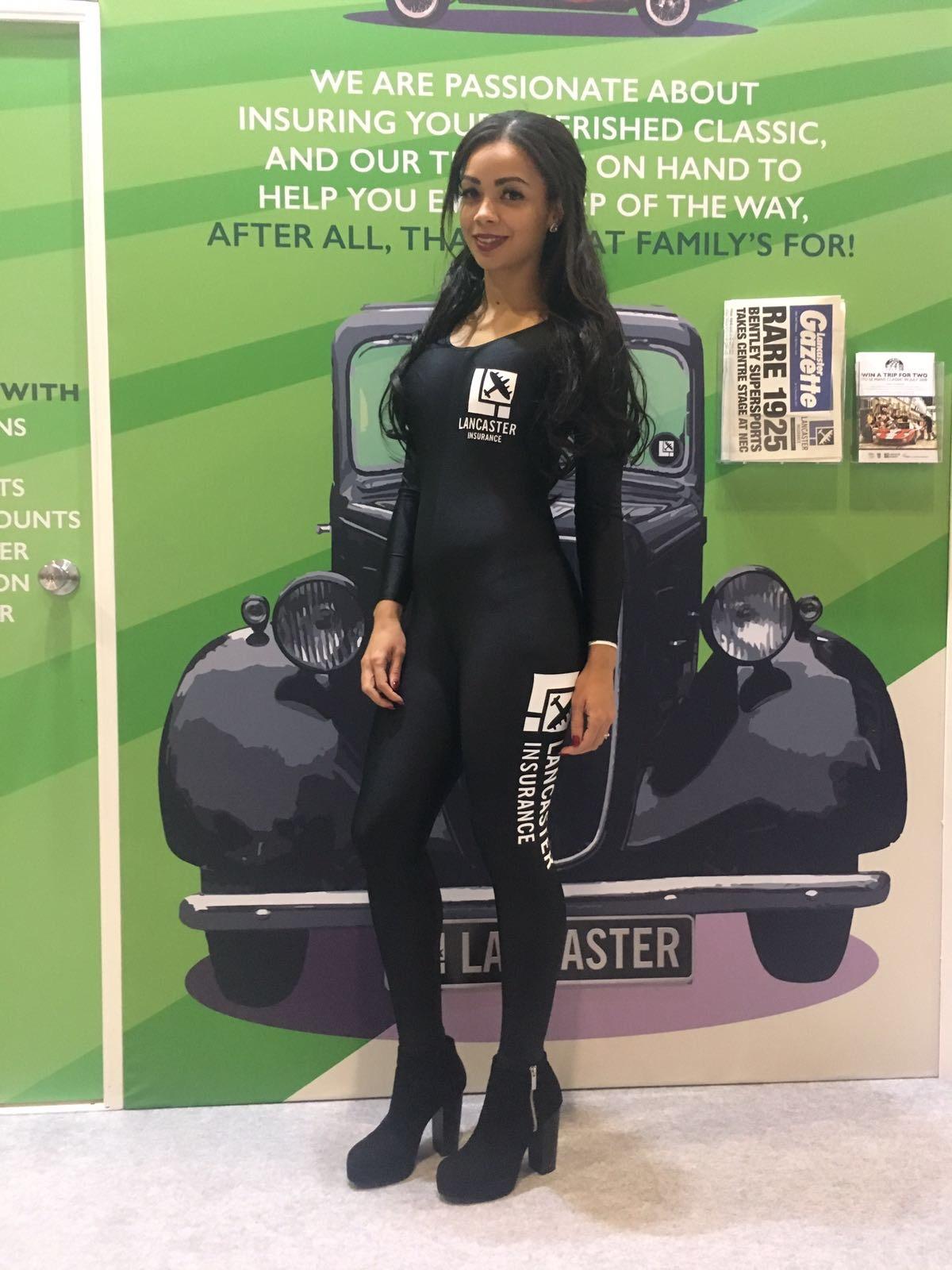 Promo Model – Lancaster Insurance – NEC Birmingham – 10/12th Nov 2017