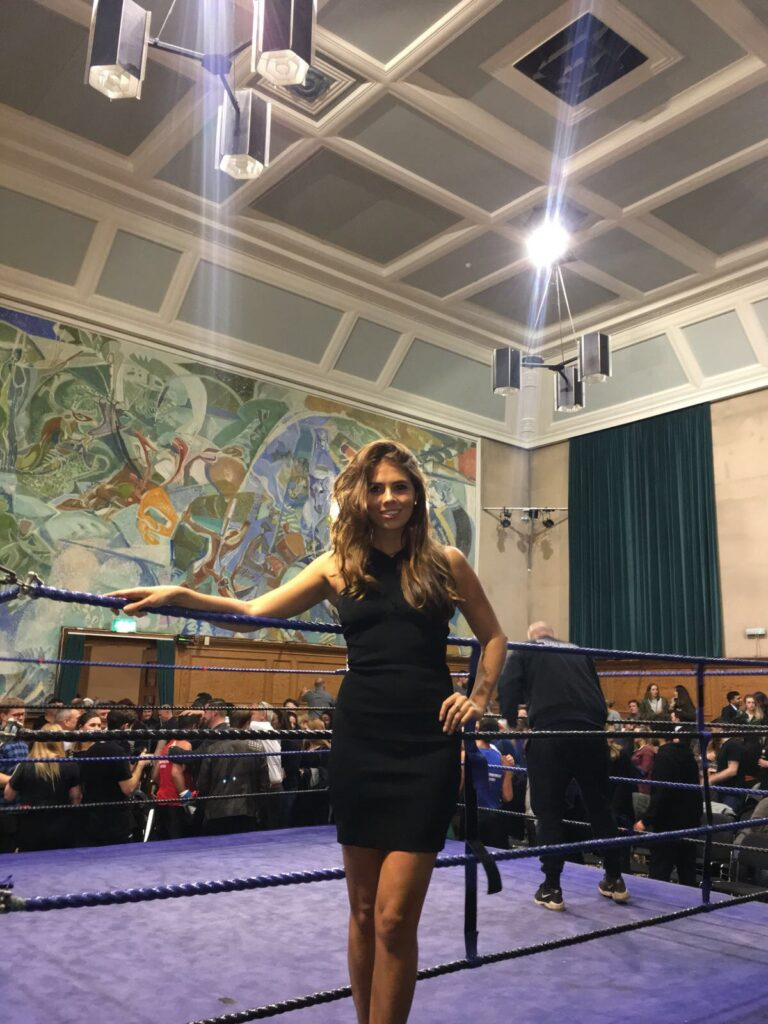 Ring Girls Workit London Cecil Sharp House 9th Nov 2017