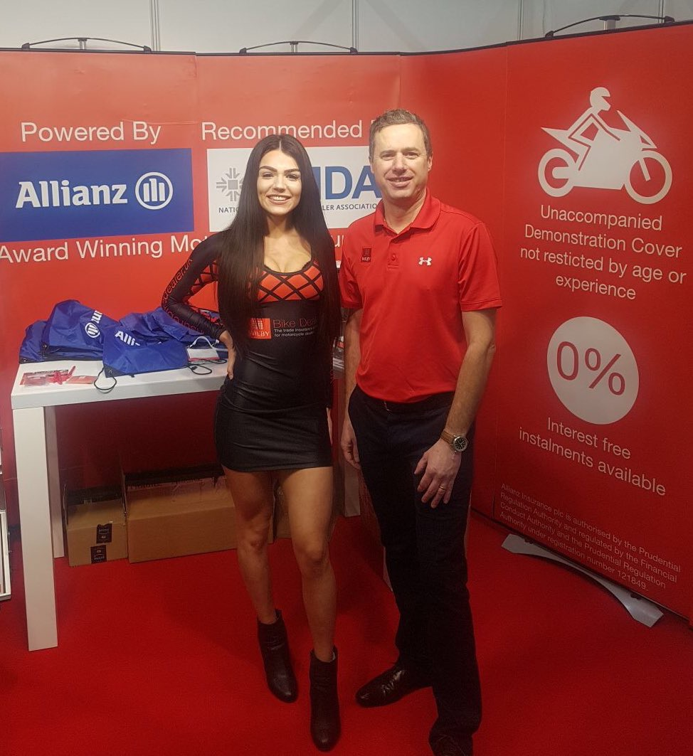 Wilby Insurance – Motorcycle Trade Expo 2018 – Stoneleigh Park