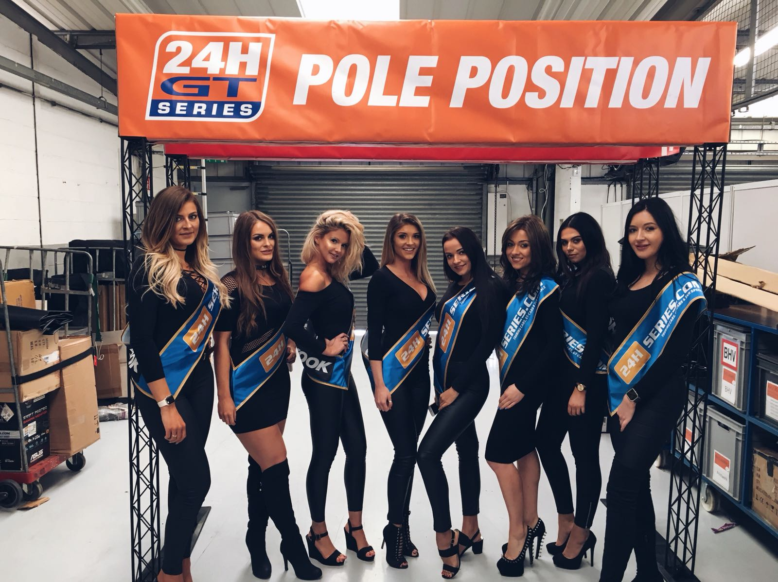 Grid Girls At Silverstone For 24h Series On 9th And 10th March 2018 01