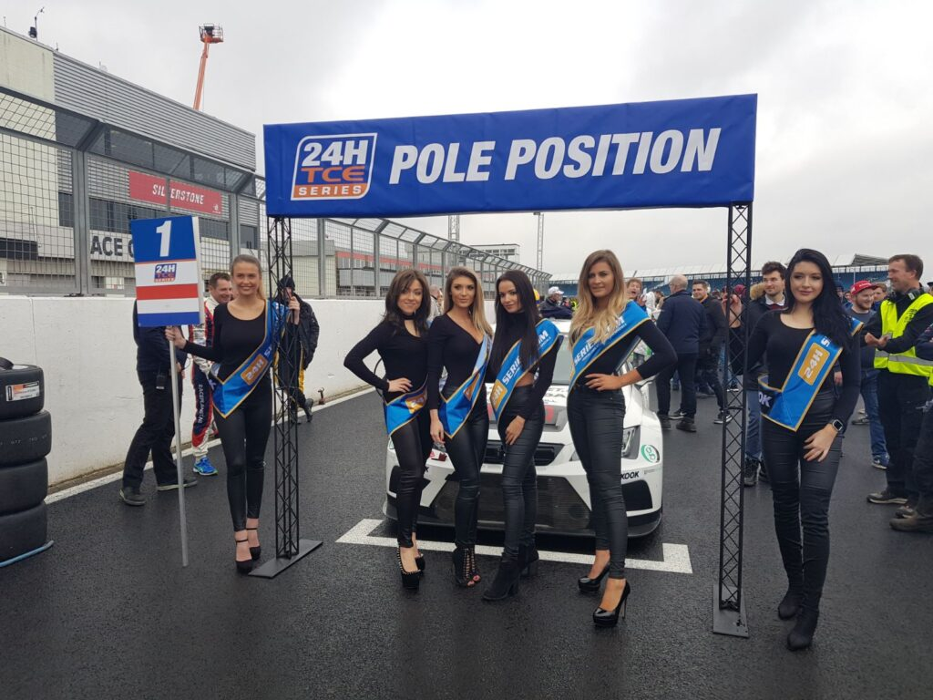 Grid Girls At Silverstone For 24h Series On 9th And 10th March 2018 02